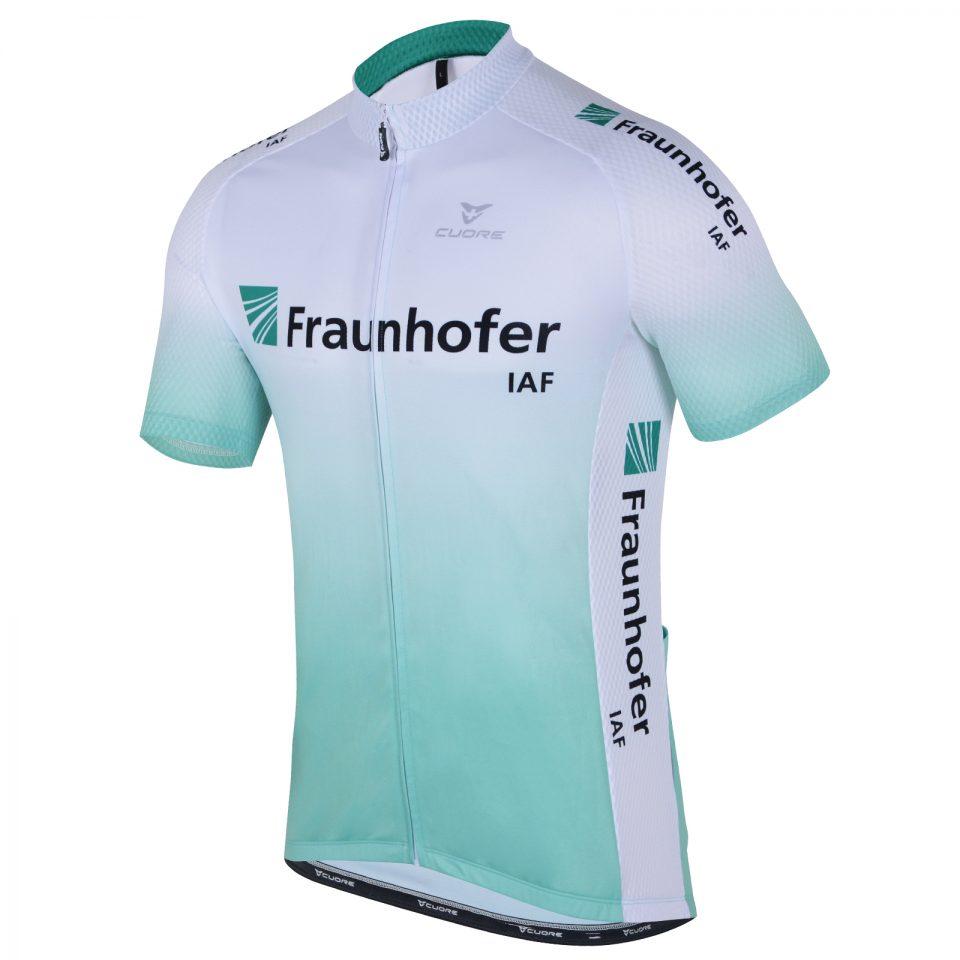 Frauenhofer cycling trikot designed by MQM